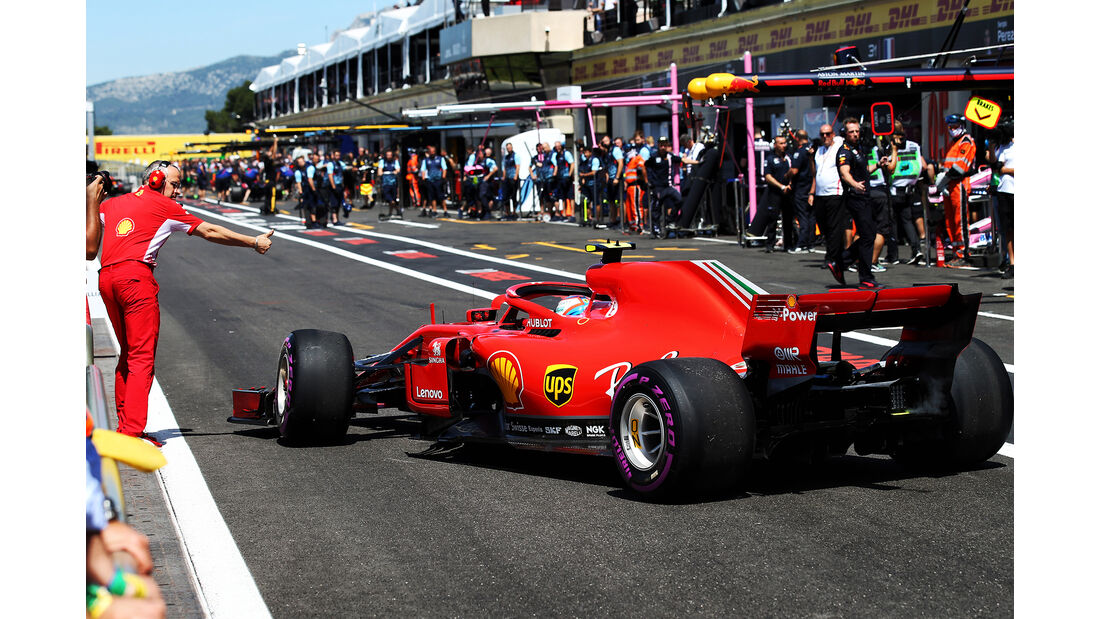 Kimi Räikkönen - Ferrari - Formel 1 - GP Frankreich - Circuit Paul Ricard - 22. Juni 2018