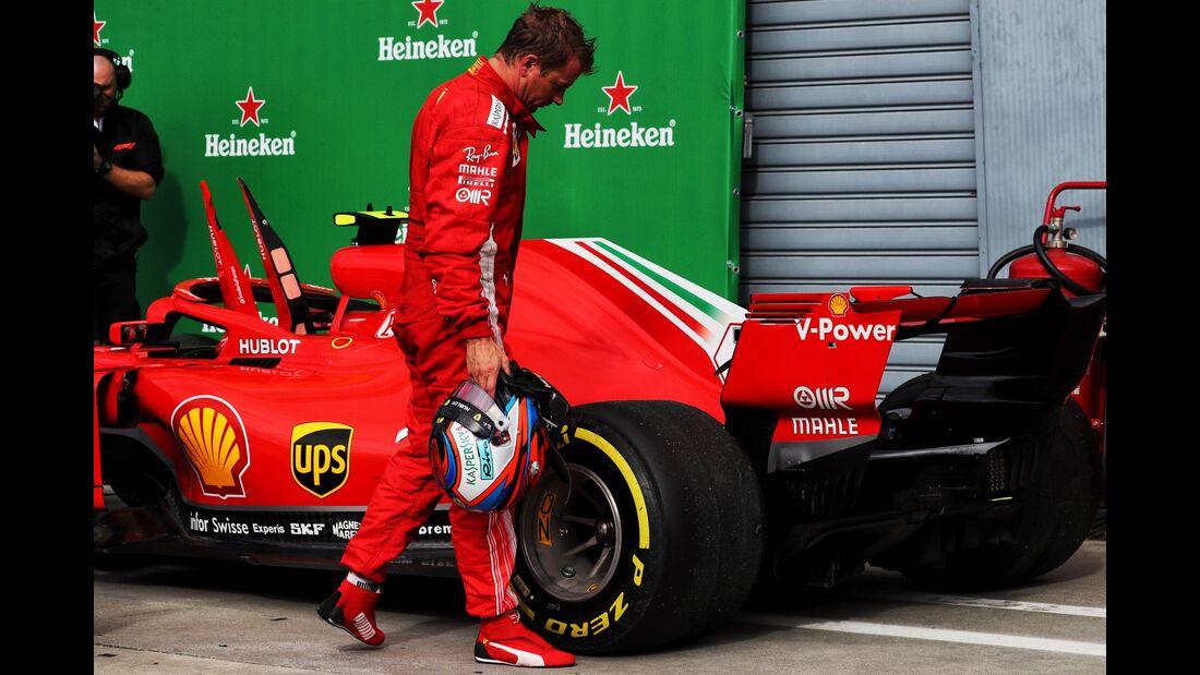 Kimi Räikkönen - Ferrari - Formel 1 - GP Italien - 02. September 2018