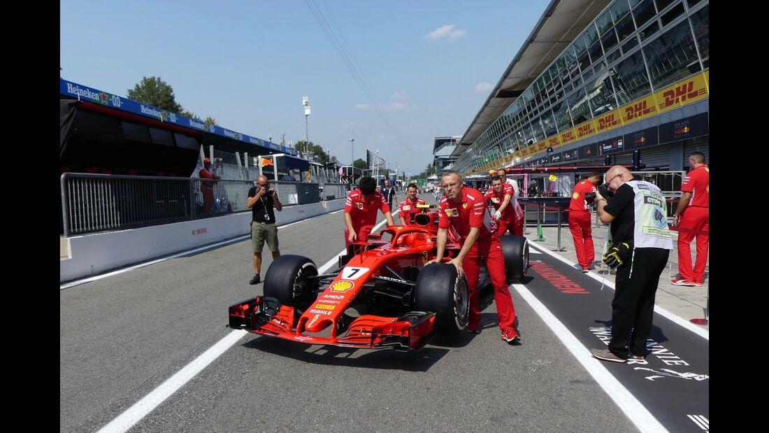 Kimi Räikkönen - Ferrari - Formel 1 - GP Italien - 30. August 2018