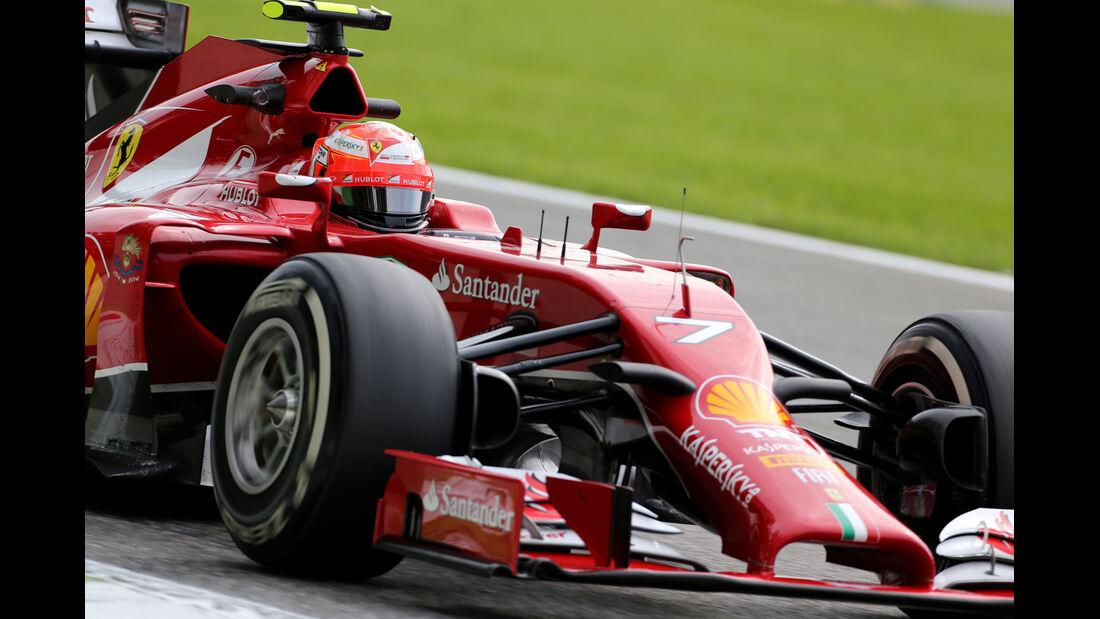 Kimi Räikkönen - Ferrari - Formel 1 - GP Italien - 5. September 2014