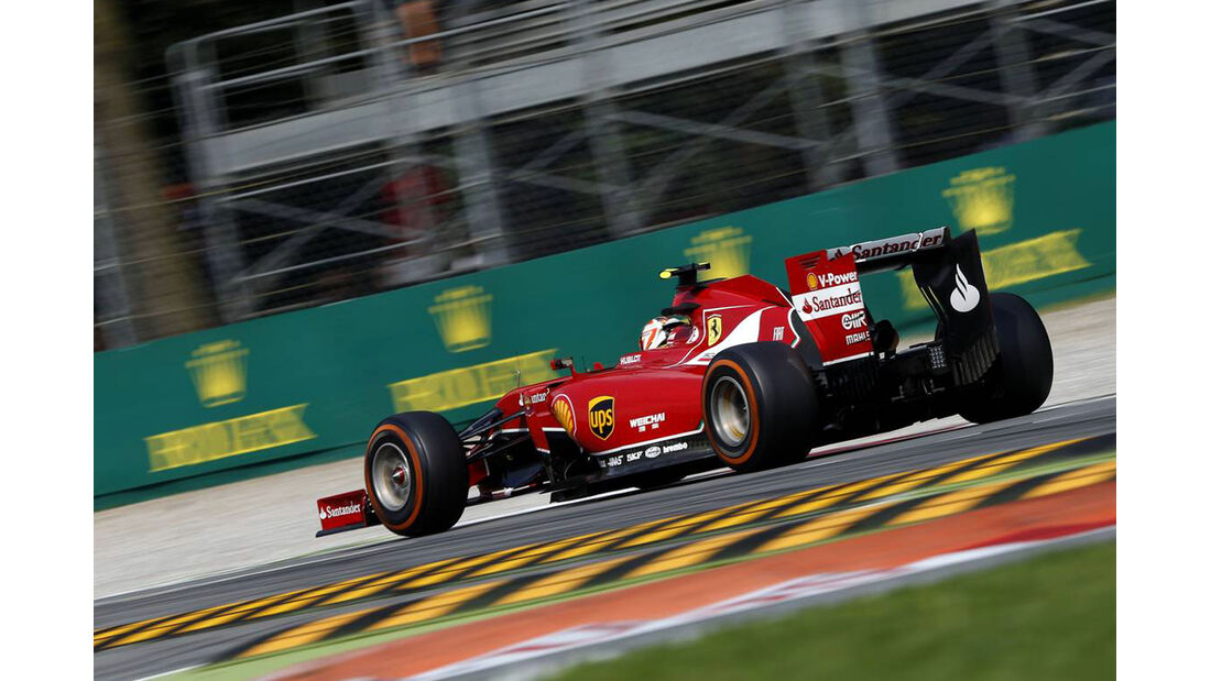 Kimi Räikkönen - Ferrari - Formel 1 - GP Italien - 7. September 2014