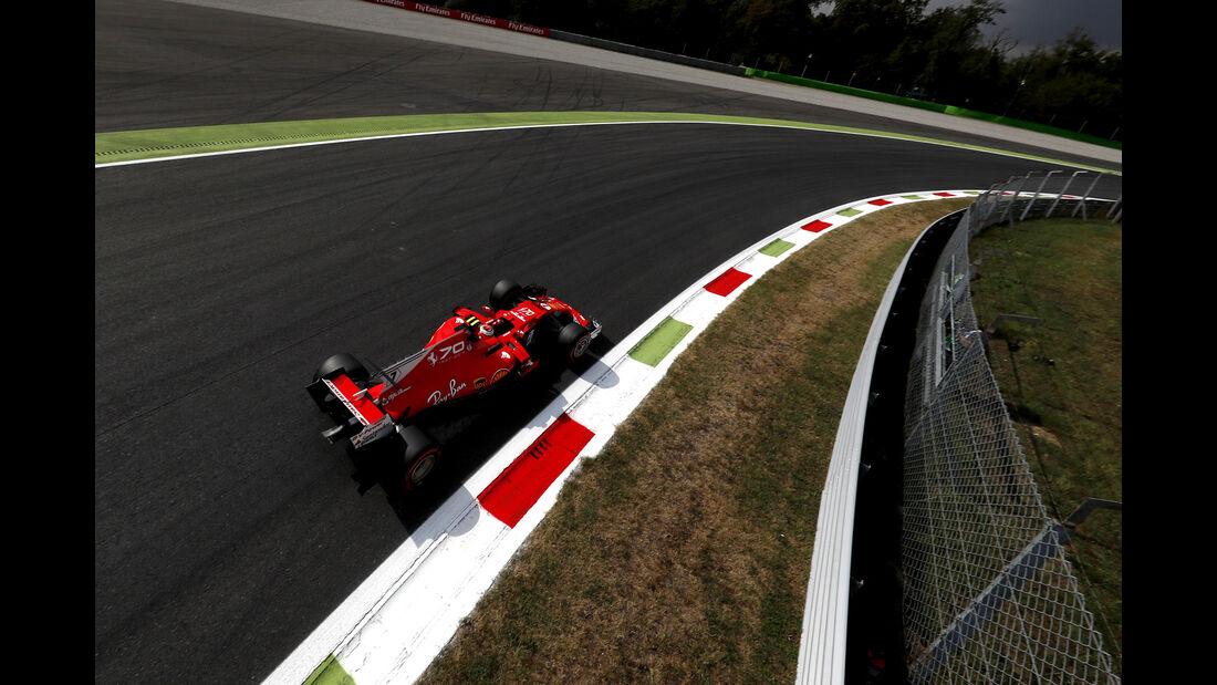 Kimi Räikkönen - Ferrari - Formel 1 - GP Italien - Monza - 1. September 2017