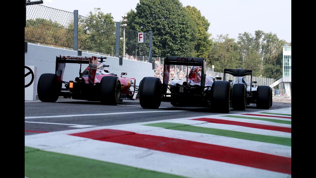 Kimi Räikkönen - Ferrari - Formel 1 - GP Italien - Monza - 2. September 2016