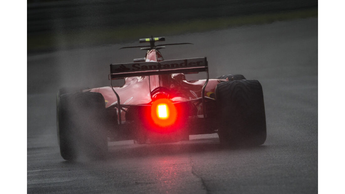 Kimi Räikkönen - Ferrari - Formel 1 - GP Italien - Monza - 2. September 2017