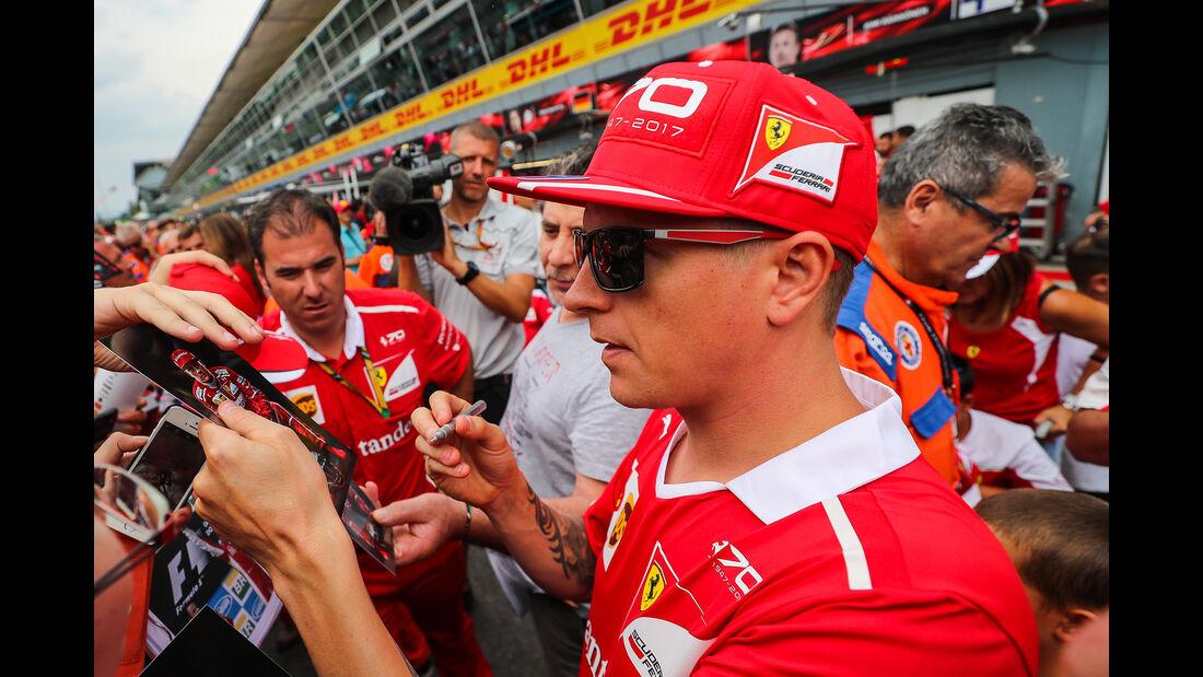 Kimi Räikkönen - Ferrari - Formel 1 - GP Italien - Monza - 31. August 2017