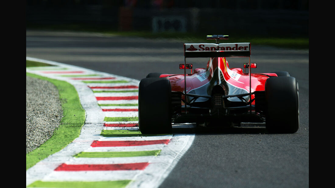 Kimi Räikkönen - Ferrari - Formel 1 - GP Italien - Monza - 4. September 2015