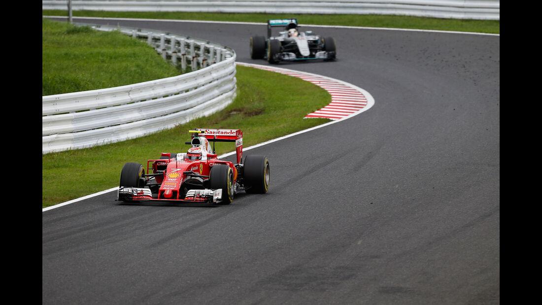 Kimi Räikkönen - Ferrari - Formel 1 - GP Japan 2016 - Suzuka