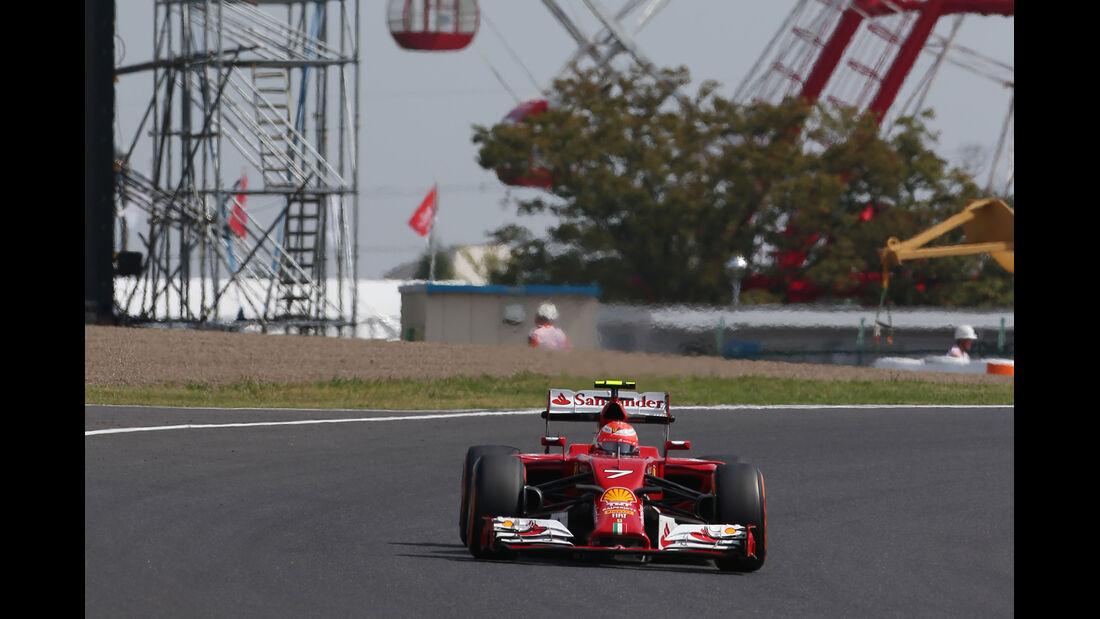 Kimi Räikkönen - Ferrari - Formel 1 - GP Japan - 3. Oktober 2014