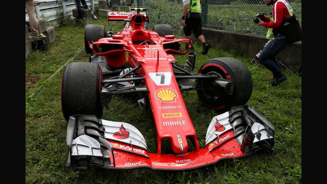 Kimi Räikkönen - Ferrari- Formel 1 - GP Japan - Suzuka - 7. Oktober 2017