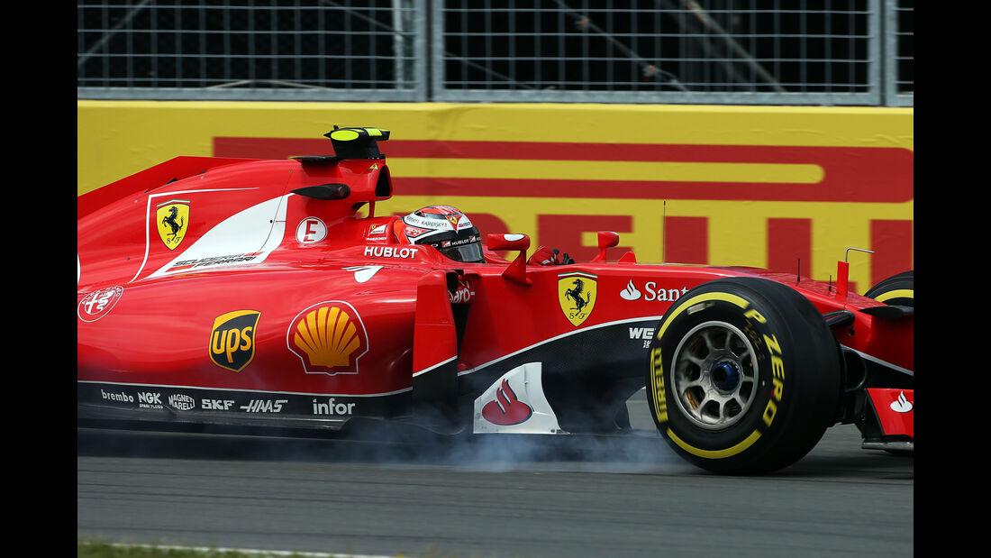 Kimi Räikkönen - Ferrari - Formel 1 - GP Kanada - Montreal - 5. Juni 2015