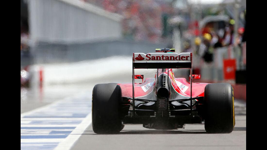 Kimi Räikkönen - Ferrari - Formel 1 - GP Kanada - Montreal - 6. Juni 2014
