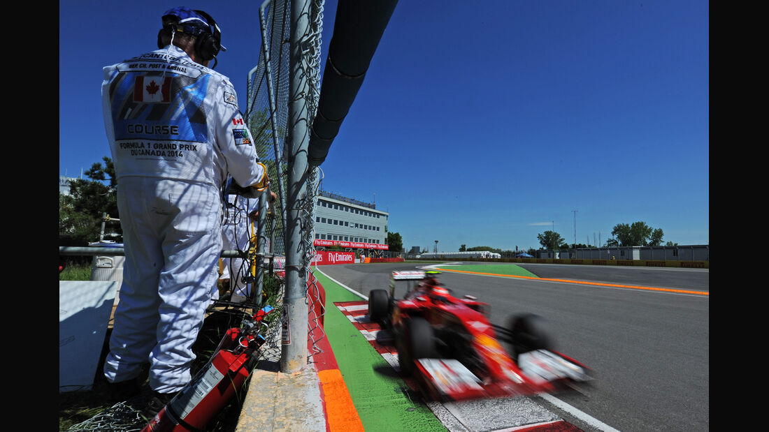Kimi Räikkönen - Ferrari - Formel 1 - GP Kanada - Montreal - 7. Juni 2014