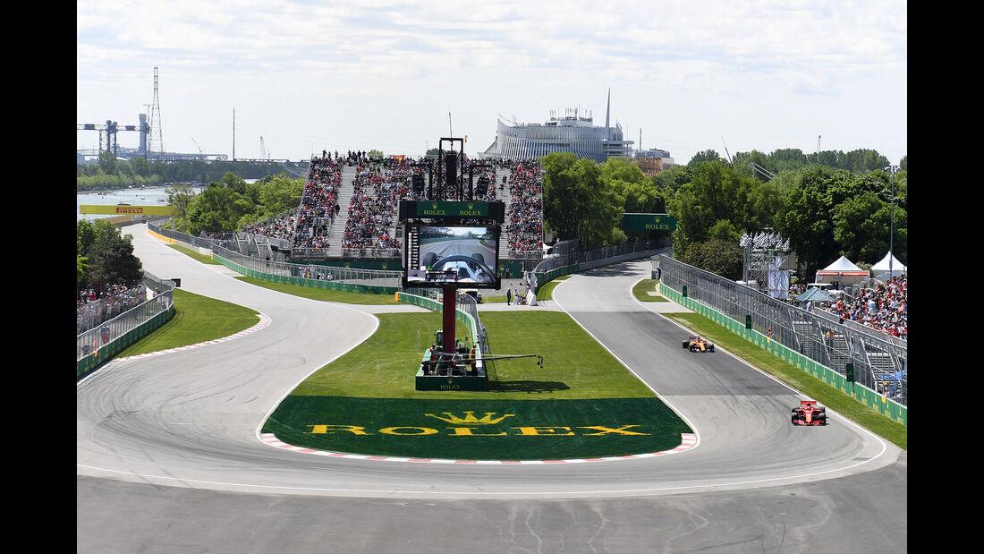 Kimi Räikkönen - Ferrari - Formel 1 - GP Kanada - Montreal - 9. Juni 2018