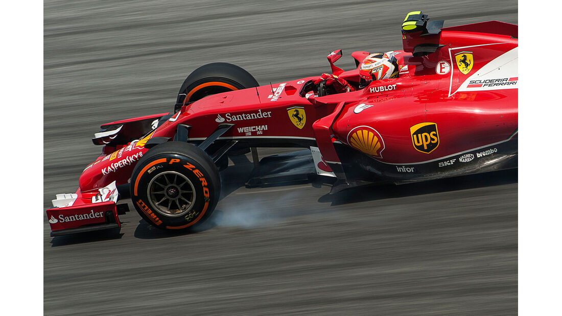 Kimi Räikkönen - Ferrari - Formel 1 - GP Malaysia - 28. März 2014