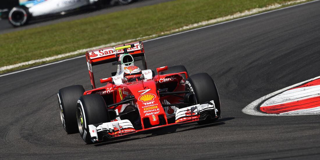 Kimi Räikkönen - Ferrari - Formel 1 - GP Malaysia - Freitag - 30.9.2016