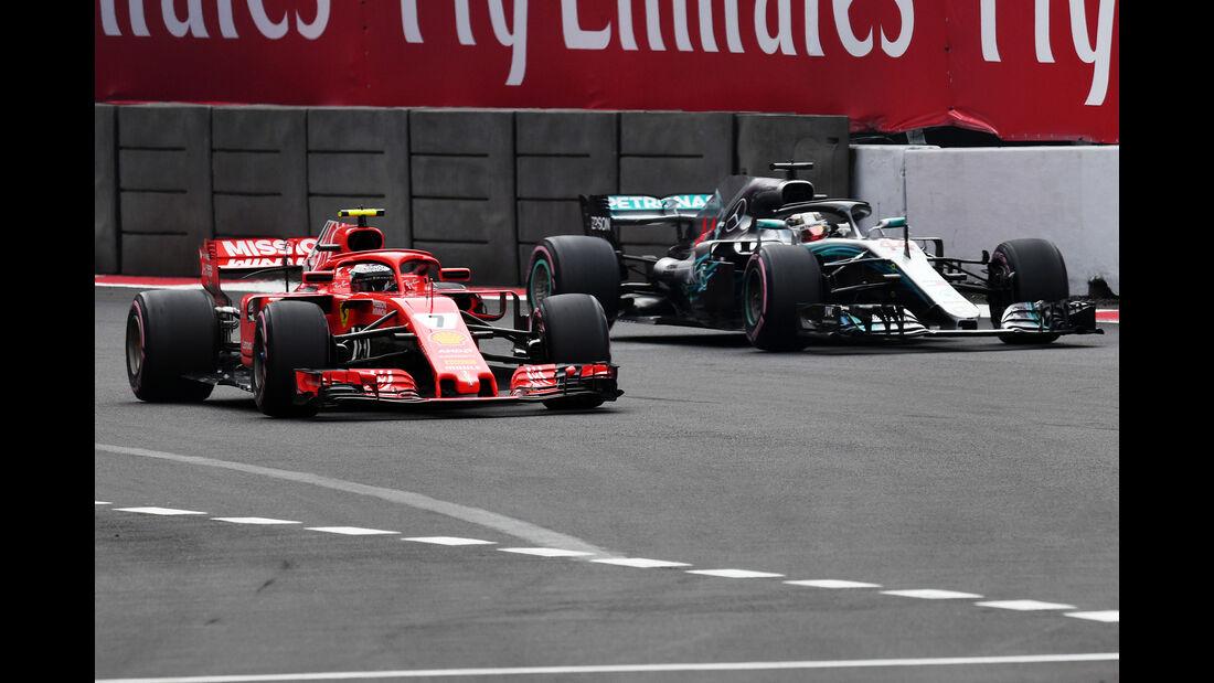 Kimi Räikkönen - Ferrari - Formel 1 - GP Mexiko - 27. Oktober 2018