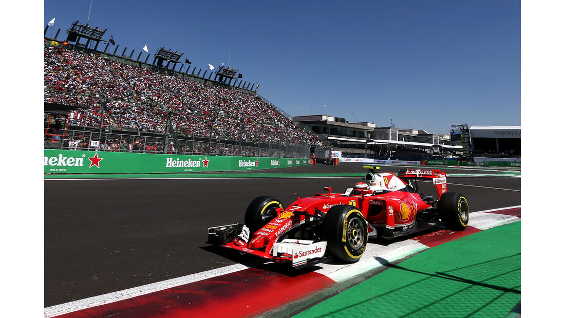 Kimi Räikkönen - Ferrari - Formel 1 - GP Mexiko - 29. Oktober 2016