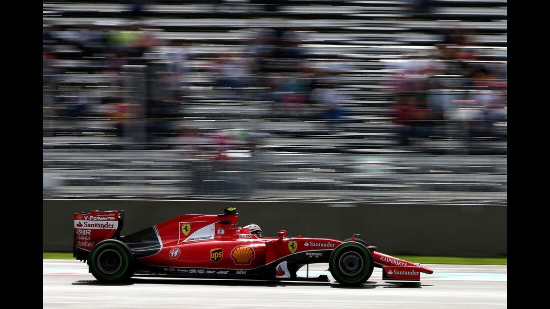 Kimi Räikkönen - Ferrari - Formel 1 - GP Mexiko - 30. Oktober 2015