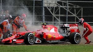Kimi Räikkönen - Ferrari - Formel 1 - GP Mexiko - 31. Oktober 2015