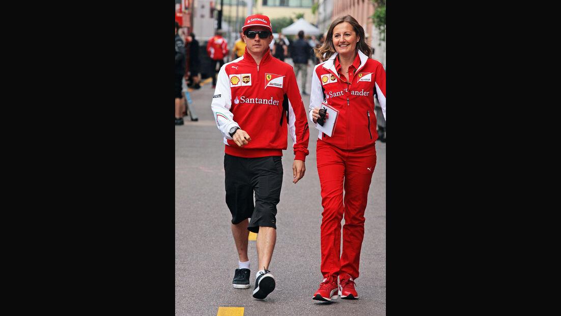 Kimi Räikkönen - Ferrari - Formel 1 - GP Monaco - 21. Mai 2014