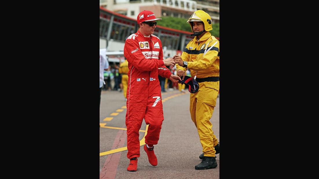 Kimi Räikkönen - Ferrari - Formel 1 - GP Monaco - 22. Mai 2014