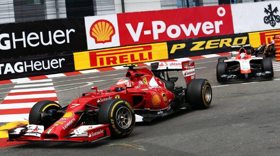 Kimi Räikkönen - Ferrari  - Formel 1 - GP Monaco - 25. Mai 2014