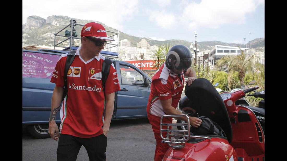 Kimi Räikkönen - Ferrari - Formel 1 - GP Monaco - 25. Mai 2016