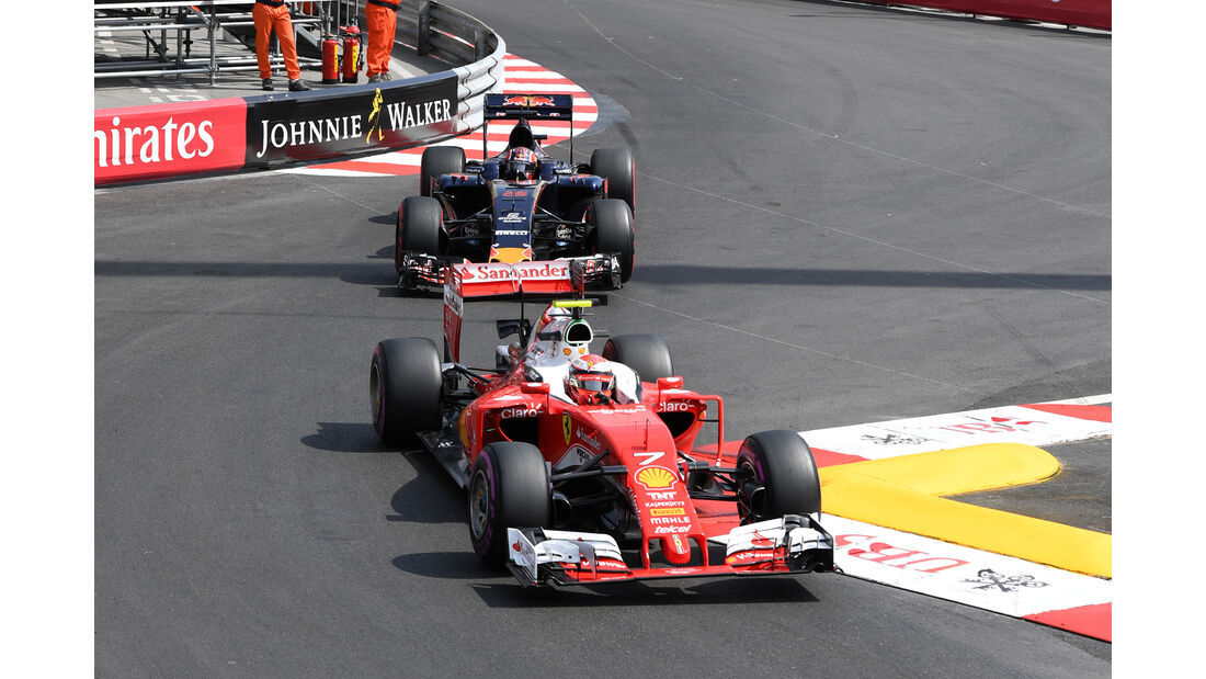 Kimi Räikkönen - Ferrari - Formel 1 - GP Monaco - 26. Mai 2016