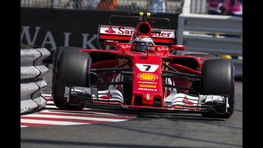 Kimi Räikkönen - Ferrari - Formel 1 - GP Monaco - 27. Mai 2017