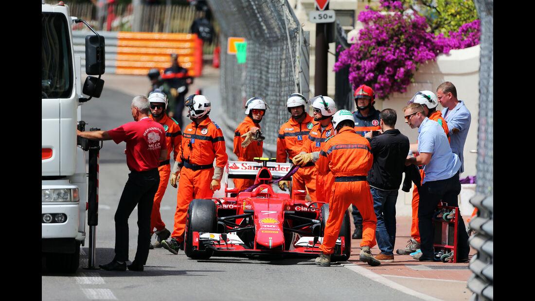 Kimi Räikkönen - Ferrari - Formel 1 - GP Monaco - Samstag - 23. Mai 2015