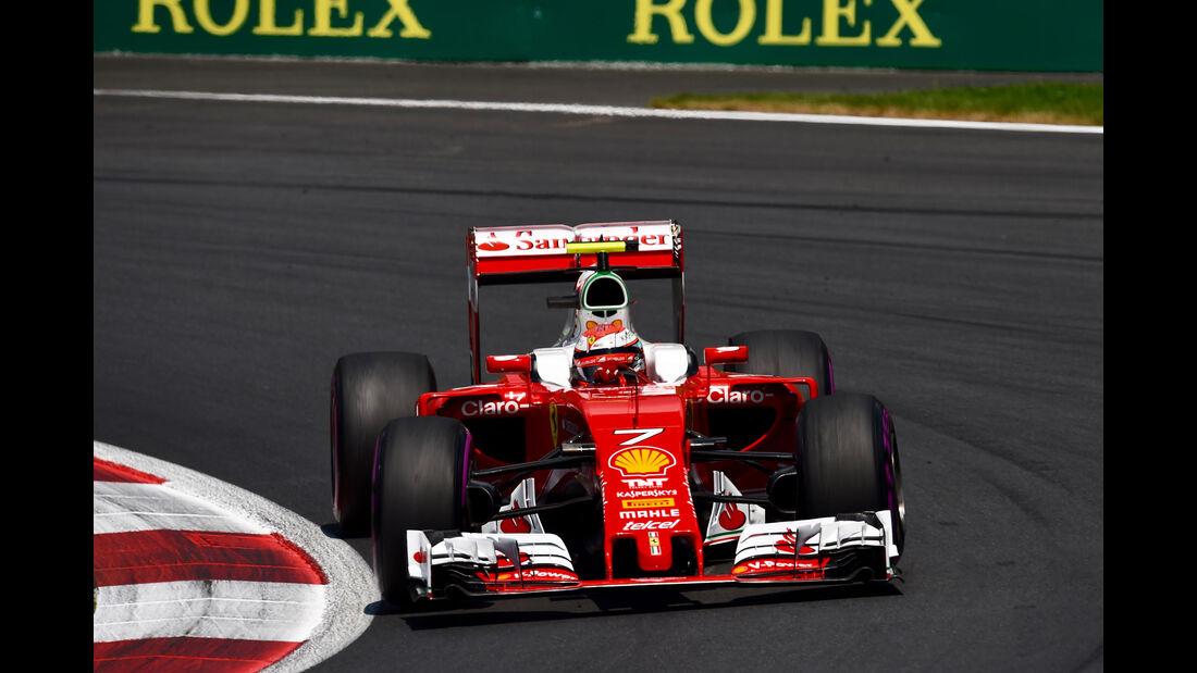Kimi Räikkönen - Ferrari  - Formel 1 - GP Österreich - 2. Juli 2016