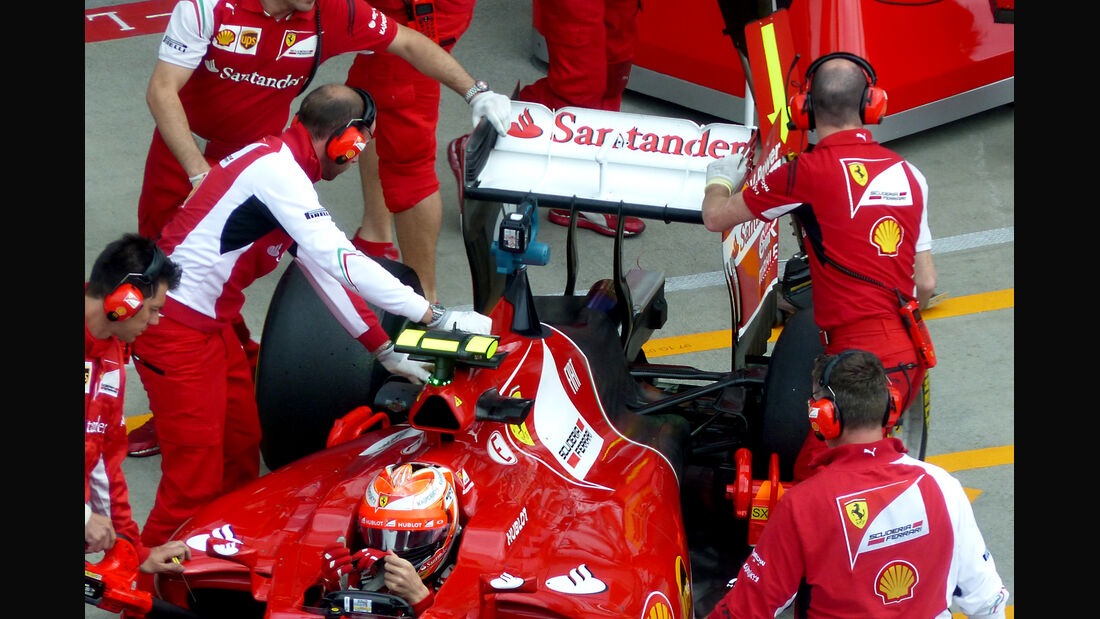 Kimi Räikkönen - Ferrari - Formel 1 - GP Österreich - Spielberg - 20. Juni 2014