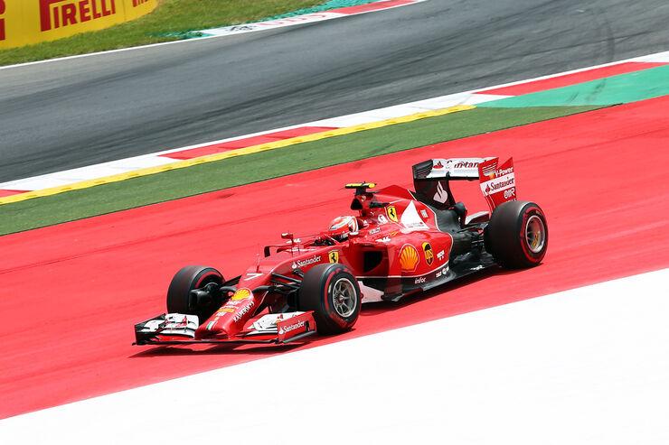 Kimi Räikkönen - Ferrari - Formel 1 - GP Österreich - Spielberg - 21. Juni 2014