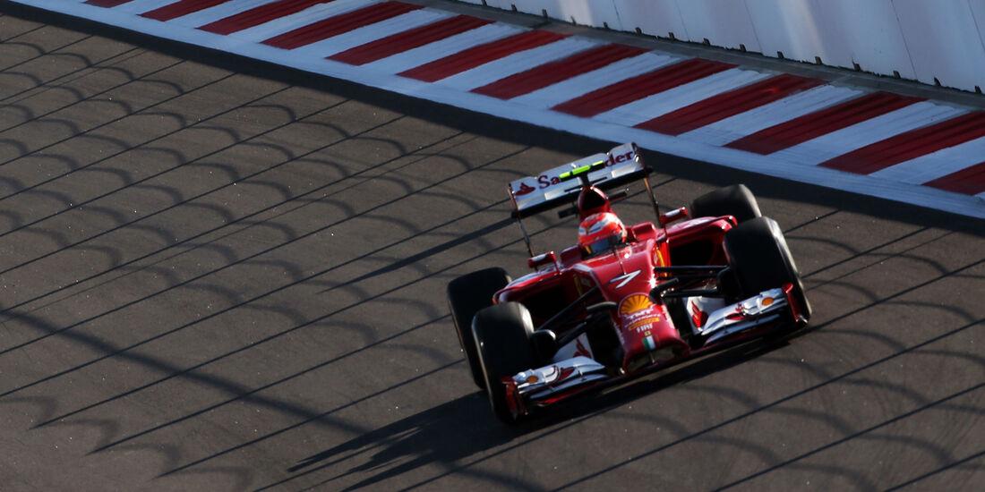 Kimi Räikkönen - Ferrari - Formel 1 - GP Russland - 10. Oktober 2014