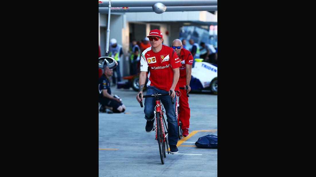 Kimi Räikkönen - Ferrari - Formel 1 - GP Russland - Sochi - 9. Oktober 2014