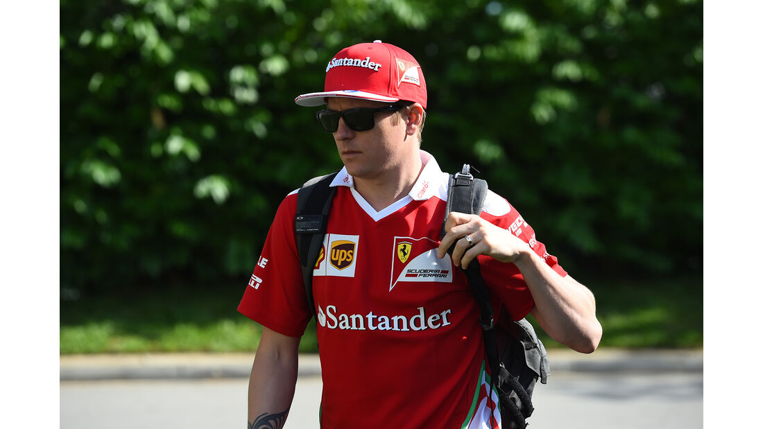 Kimi Räikkönen - Ferrari - Formel 1 - GP Singapur - 15. Septemberg 2016