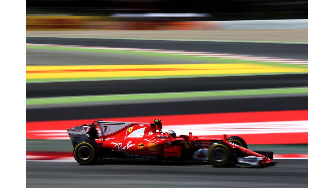 Kimi Räikkönen - Ferrari - Formel 1 - GP Spanien - 13. Mai 2017