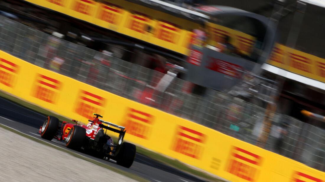 Kimi Räikkönen - Ferrari - Formel 1 - GP Spanien - Barcelona - 9. Mai 2014