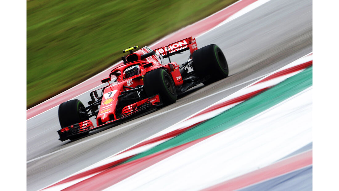 Kimi Räikkönen - Ferrari - Formel 1 - GP USA - 19. Oktober 2018