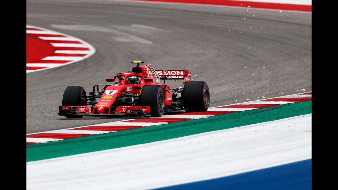 Kimi Räikkönen - Ferrari - Formel 1 - GP USA - Austin - 20. Oktober 2018