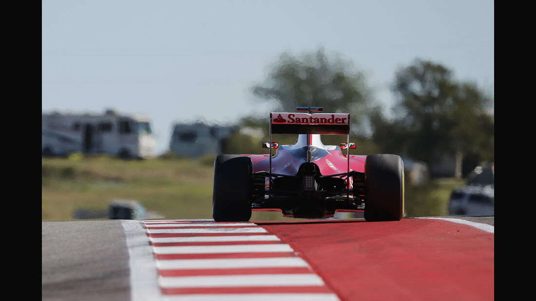 Kimi Räikkönen - Ferrari - Formel 1 - GP USA - Austin - 21. Oktober 2016