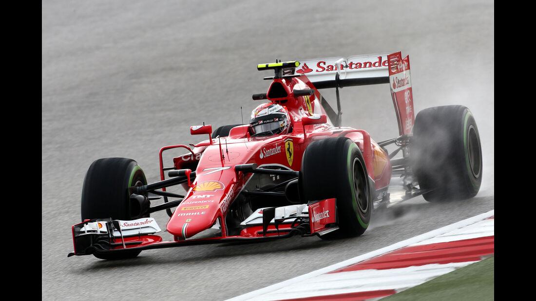 Kimi Räikkönen - Ferrari - Formel 1 - GP USA - Austin - 23. Oktober 2015