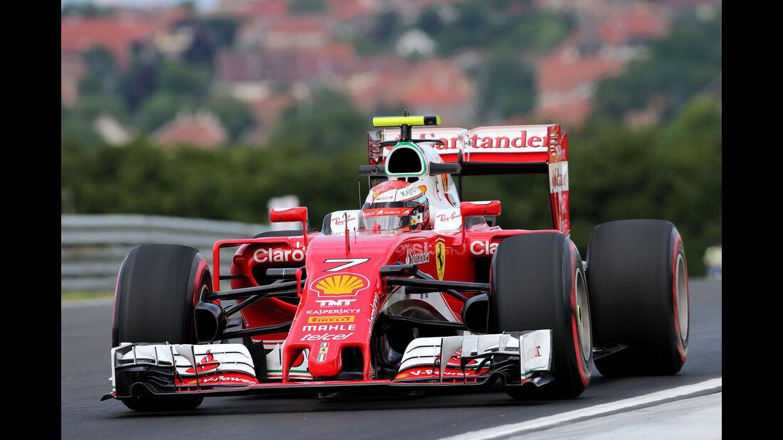 Kimi Räikkönen - Ferrari - Formel 1 - GP Ungarn - 22. Juli 2016