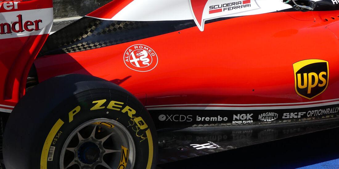 Kimi Räikkönen - Ferrari - Formel 1 - GP Ungarn - 23. Juli 2016