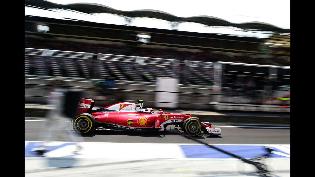 Kimi Räikkönen - Ferrari - Formel 1 - GP Ungarn - 24. Juli 2016