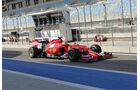 Kimi Räikkönen - Ferrari - Formel 1 - Test - Bahrain - 1. März 2014
