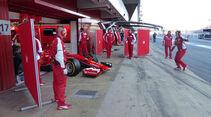 Kimi Räikkönen - Ferrari - Formel 1-Test - Barcelona - 28. Februar 2015