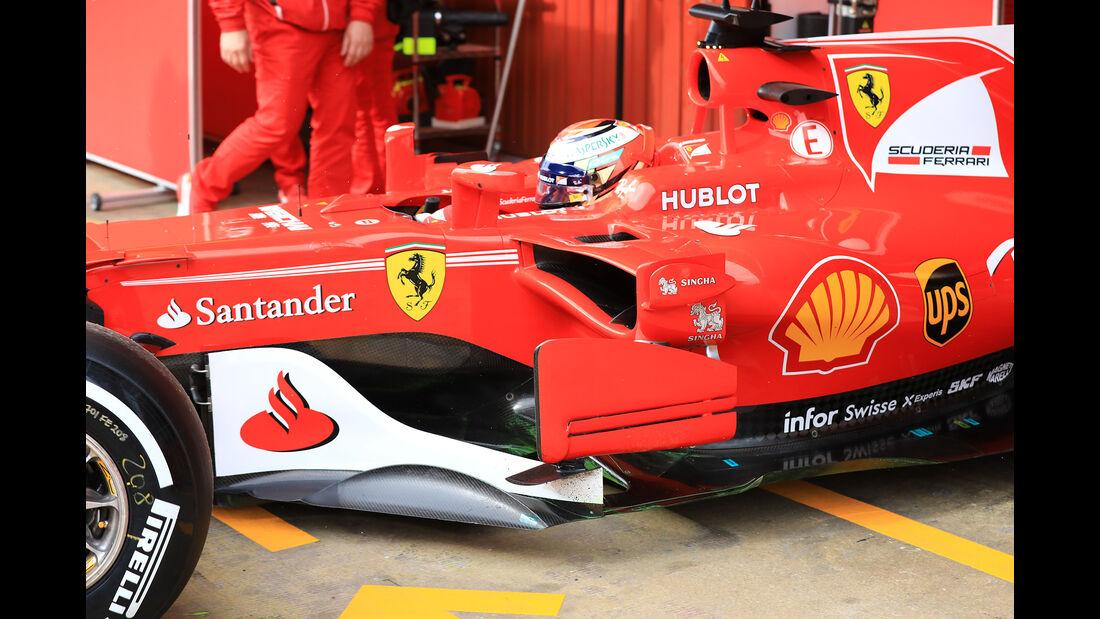 Kimi Räikkönen - Ferrari - Formel 1-Test - Barcelona - 28. Februar 2017