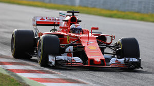 Kimi Räikkönen - Ferrari - Formel 1 - Test - Barcelona - 28. Februar 2017