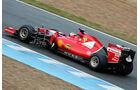 Kimi Räikkönen - Ferrari - Formel 1-Test - Jerez - 3. Februar 2015